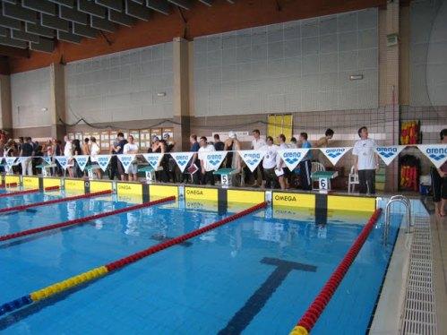 Interclubs 2009 à Seynod : L'équipe messieurs sur le podium Dauphiné-Savoie