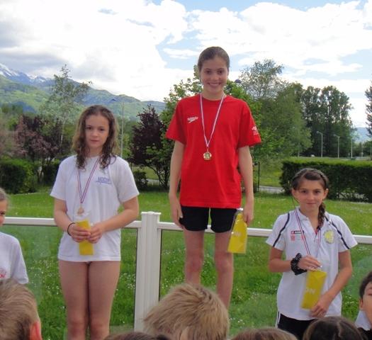 Finale départementale socle 3 Poussins : 3 st-egrèvois sur le podium