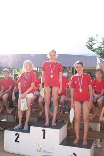 Grand prix de St-Egrève (7) : Clémence Bonnet et Justine Brun remportent le challenge de nage libre