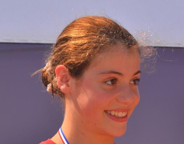Natathlon interrégional (trophée Lucien Zins) le samedi 22 et le dimanche 23 juin à Oyonnax : Justine brun améliore ses records grand bain