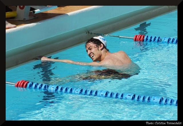 Nationaux 2 à Sarcelles : Robin Pla expatrié bat de nouveau le record USSE du 400 4N