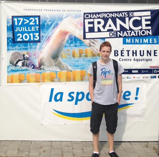 Championnats de France : Yann et Quentin en lice