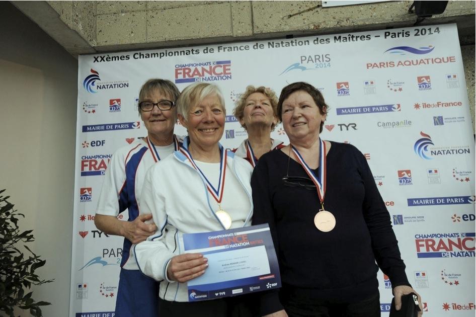 Championnats de France des Maîtres à Paris – j1