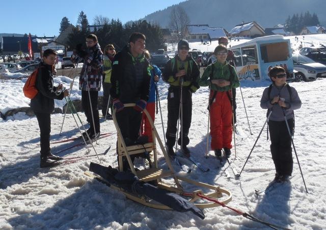 STAGE D'hiver 2015 : Chiens de traîneaux et ski de fond