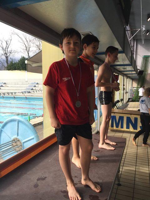 NATATHLON poussins 11 ans : nos jeunes au premier plan