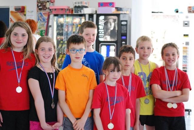 NATATHLON 10 ans et moins à Pont de Claix : des médailles et une qualification régionale
