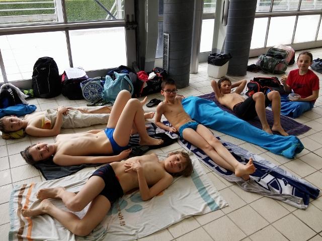 Natathlon 11 ans 2ème journée à St-Martin d'Hères