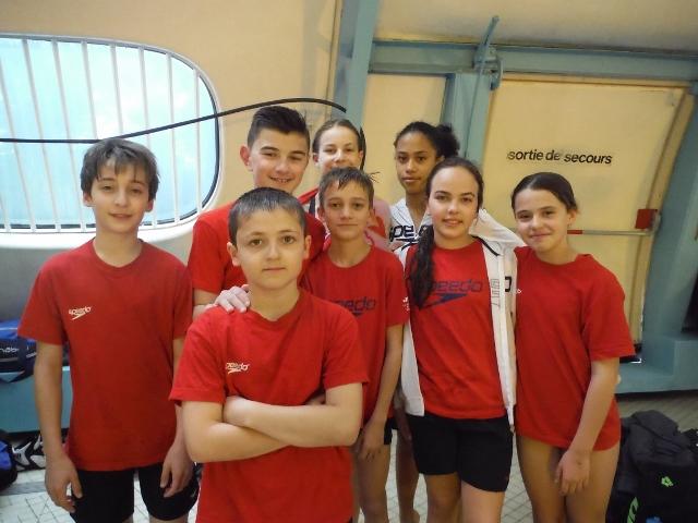 Natathlon 12-13 ans 3ème journée (1) à St-Martin le Vinoux