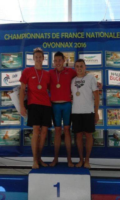 Championnats de France nationale 2 à Oyonnax : Trois records USSE et un record Dauphiné-Savoie lors d'une dernière journée de toute beauté