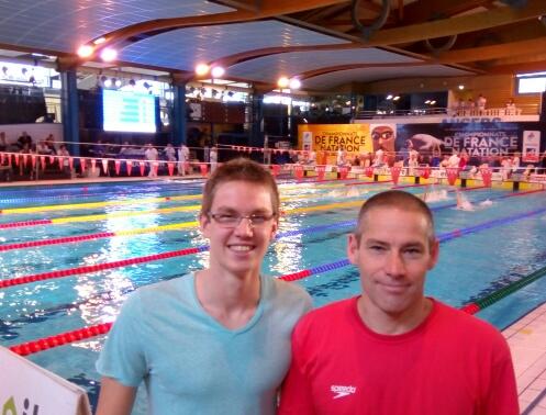 Championnats de France en bassin de 25 : Yann toujours plus loin