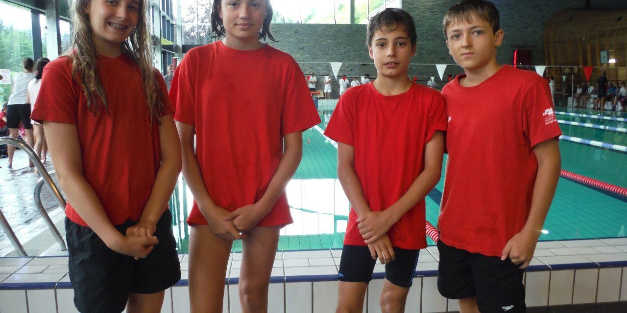 Natathlon régional à Morzine le 25 juin : quatre st-egrèvois avides de bien faire