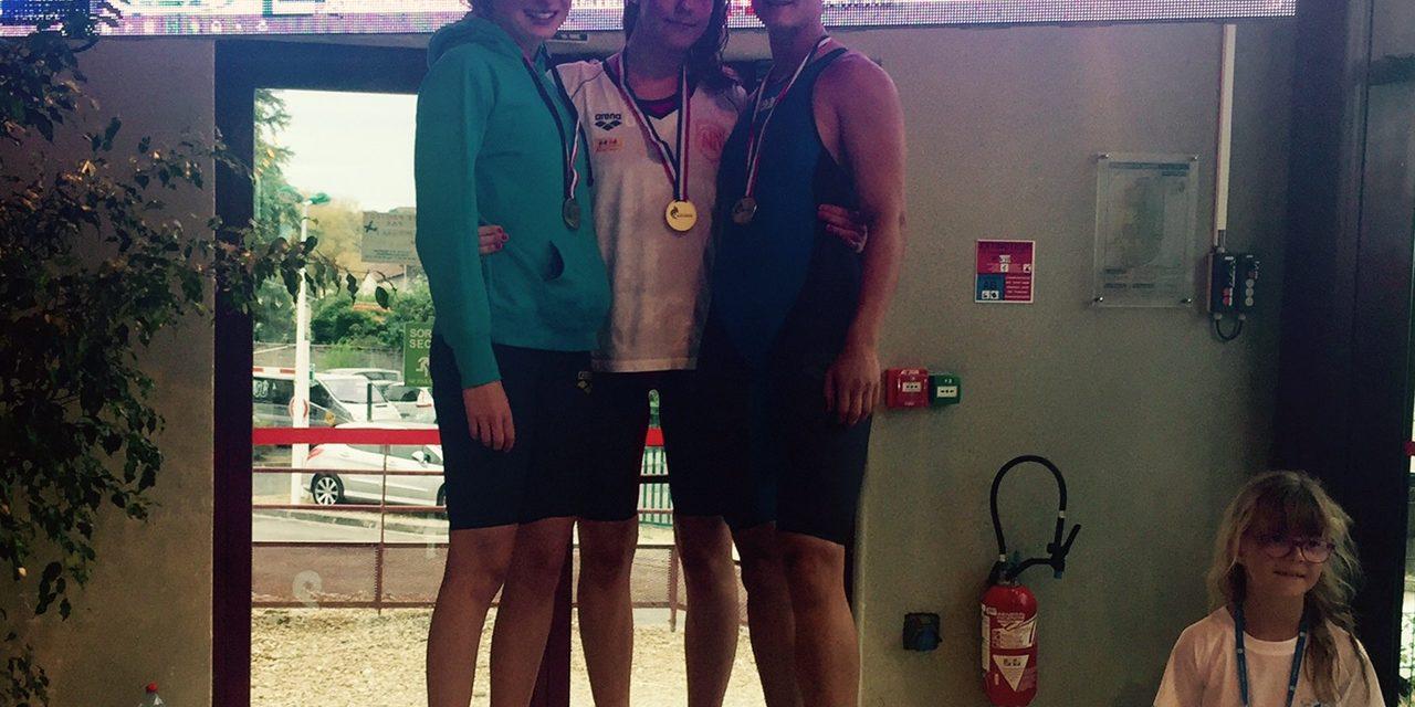 Championnats Promotionnels du 20 au 23 juillet à St-Yriex de Charente : Deux records et une finale pour Alice, un superbe podium de Pauline