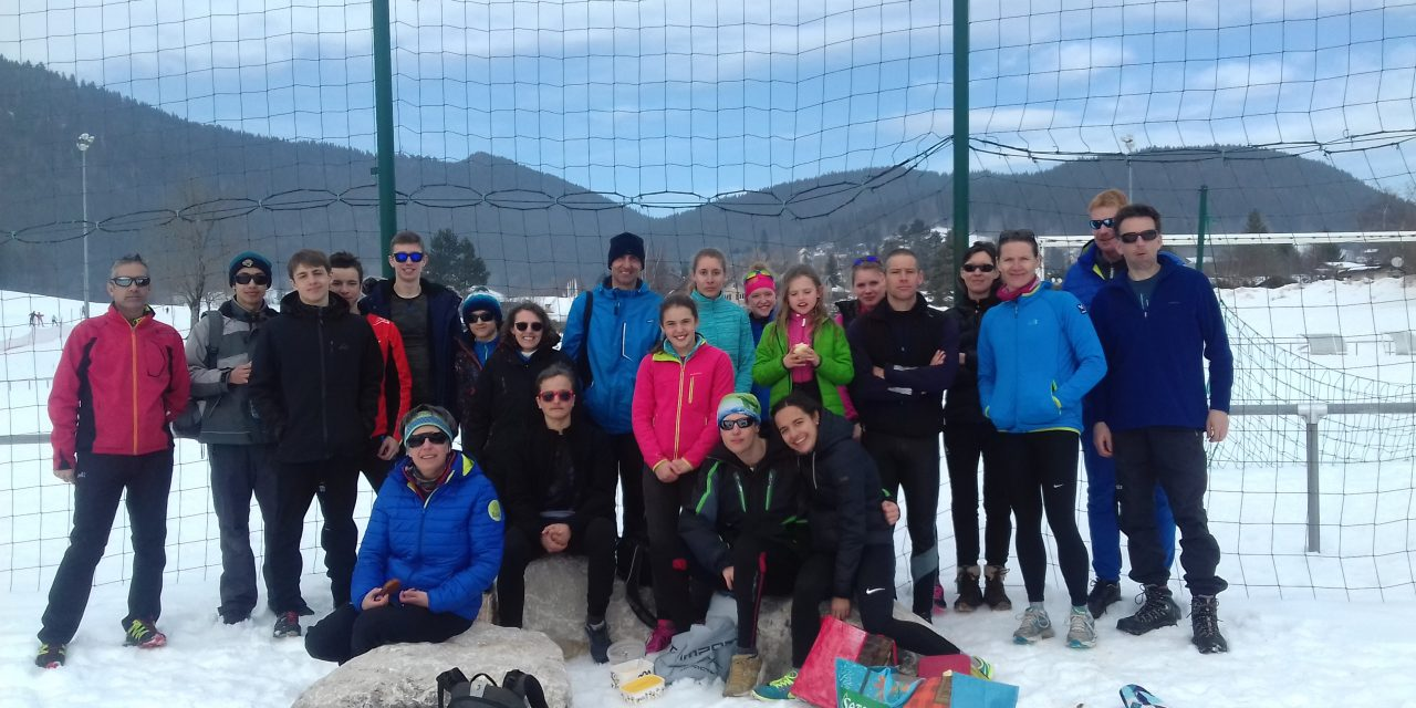 Ski de fond et stage de natation pendant les vacances d'hiver