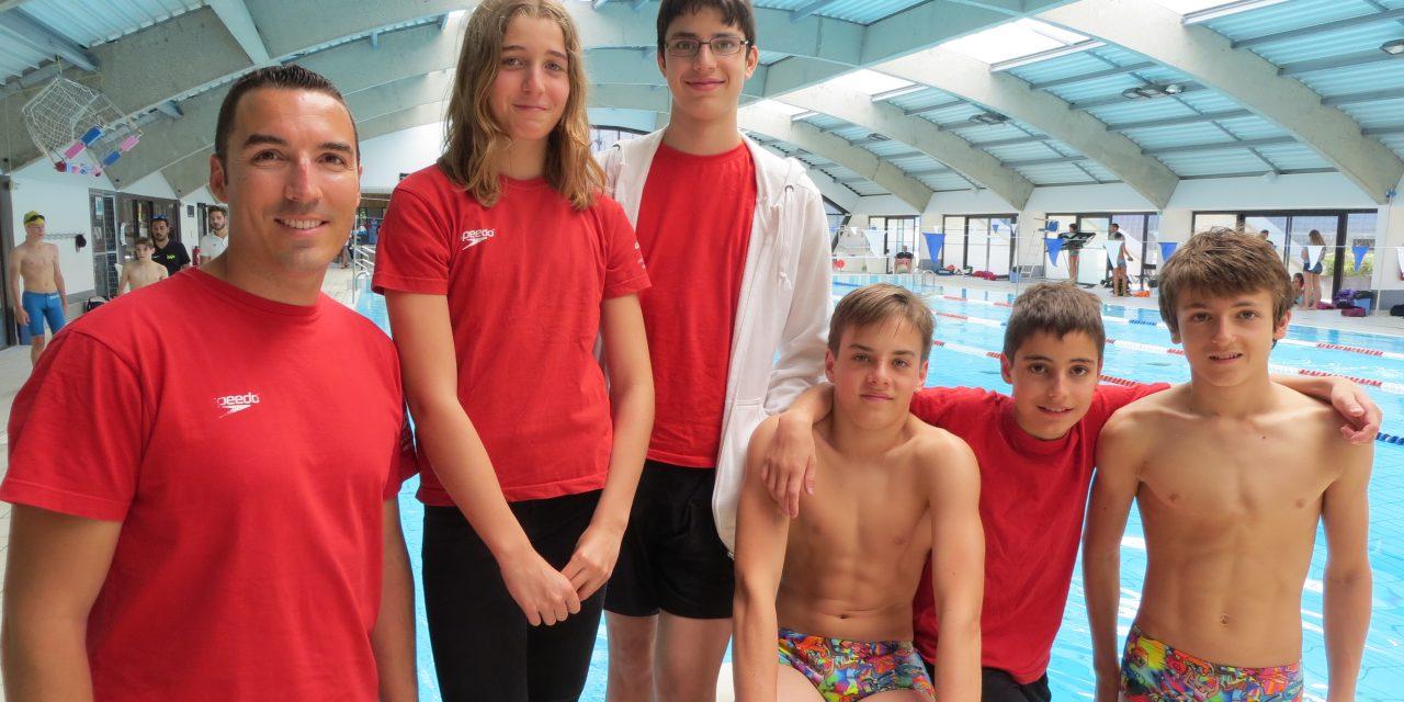 Finale régionale du Natathlon Jeunes à Valence les vendredi 22 et samedi 23 juin: aucune médaille mais de belles performances à l'arrivée