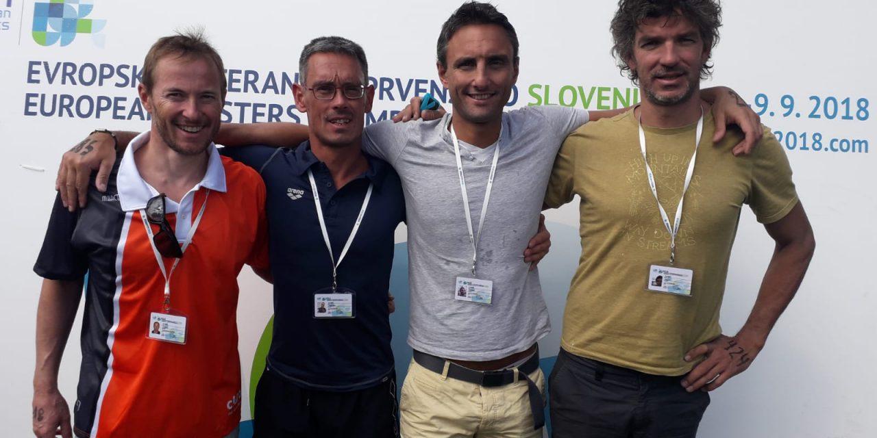 Championnats d'Europe maîtres 2018 – Quatre nageurs Saint-Égrévois au plus haut niveau européen