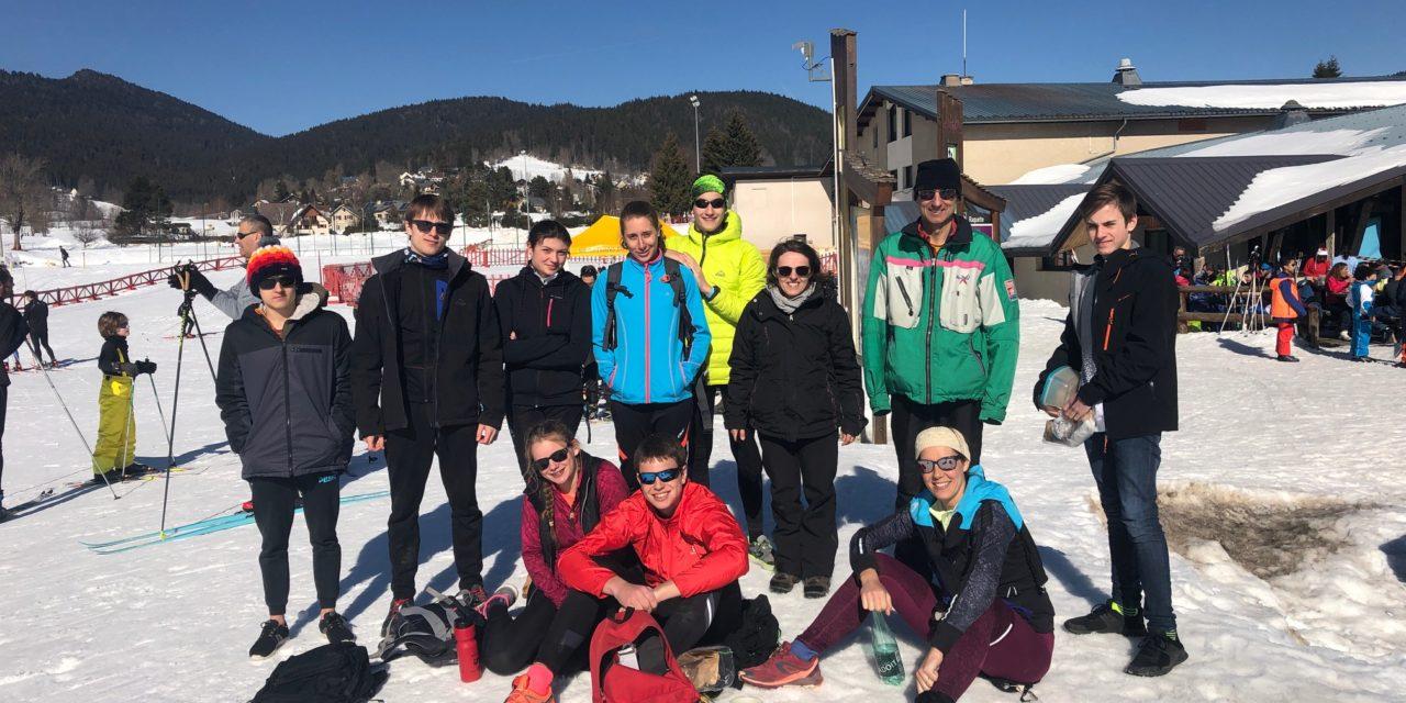 Stage d'hiver : Première sortie de ski de fond à Autrans