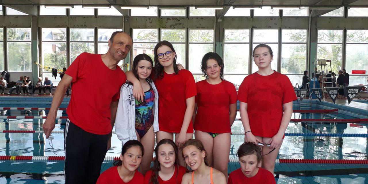 Interclubs départementaux Jeunes (2) dames le dimanche 5 mai : 8ème et 14ème