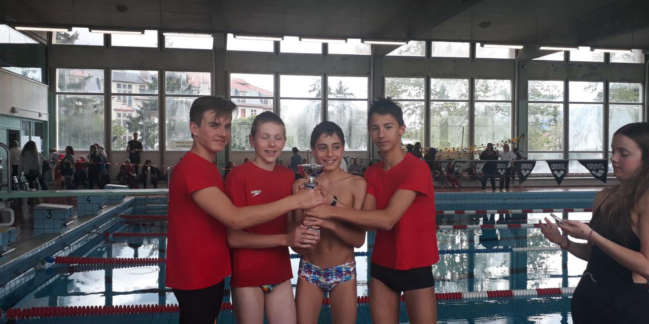 Interclubs départementaux Jeunes (1) le 5 mai : 12 garçons motivés, l'équipe 1 sur le podium