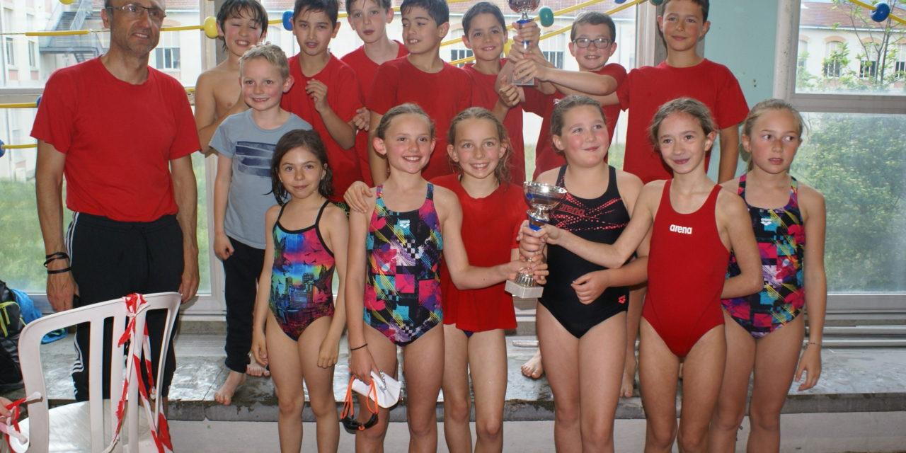 Interclubs départementaux Avenirs du samedi 4 mai : Beaux succès de L'USSE qui finit 2ème en filles et en garçons