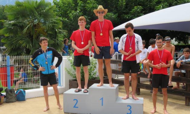 Grand Prix de St-Egrève (2) le dimanche 16 juin à la piscine des mails : Yann s'impose malgré les assauts de Fantin