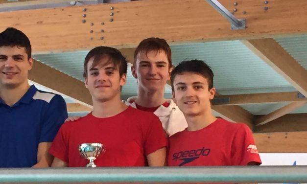 Championnats départementaux Interclubs (4) à St-Martin le Vinoux : L'équipe 2 messieurs première départementale