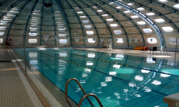La piscine Tournesol pendant les vacances d'hiver