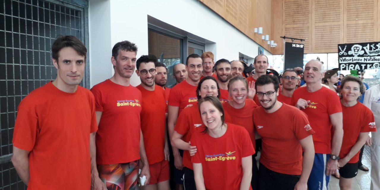 Championnats Interclubs maitres de la ligue AURA à Bourg-en-Bresse : l'équipe 1 sur le podium, l'équipe 2 13ème