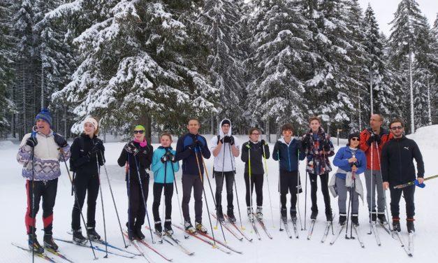 Vacances de février : Première journée de Ski de fond