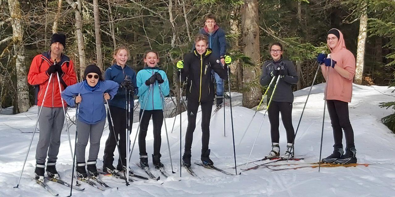 Ski de fond (6) : une dernière sortie longue mais encore une fois très sympathique