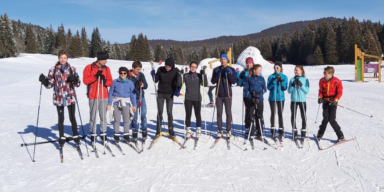 Ski de fond (4) : le lundi 15 février à Autrans